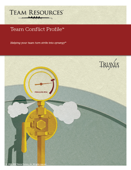 The Online Team Diagnostic Report for Team Conflict